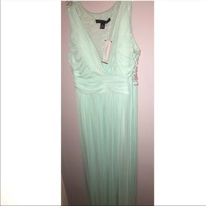 Mint Green elegant party dress